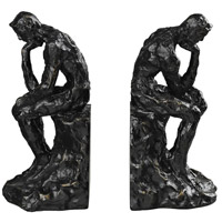 Sterling Industries Thinking Man Bookends in Beaufort Bronze 87-8009