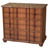 Sterling Industries Tangerine Stripe Chest in Bom 88-9001