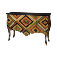 Sterling Industries African Print Chest in Abbas 88-9004