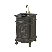Sterling Signature Vanity Unit in Wash Grey With Sport and Black Marble 88-9014