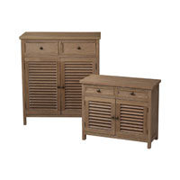 Sterling Industries Set Of 2 Washed Wood Cabinets in Sete 89-8007/S2