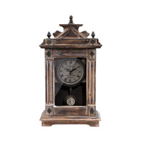 Sterling Industries Signature Clock in Bleached Wood 89-8502 photo thumbnail