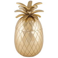 Sterling 8900-006 Kealakekua Gold Container, Pineapple