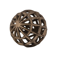 Signature Warm Antiqued Gold Decorative Ball