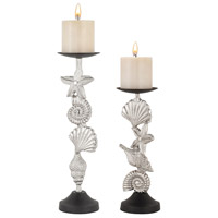 Sterling Playa Candle Holder in Nickel 8987-040/S2