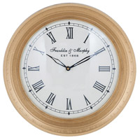Sterling 8990-051 Carfax Crossing 12 X 12 inch Wall Clock