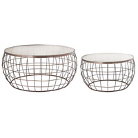 Sterling 8990-058 Netty 32 X 15 inch Bronze Coffee Tables, Set of 2