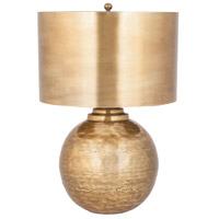 Sterling 8994-008 Agamemnon 22 inch 150 watt Antique Brass Table Lamp Portable Light