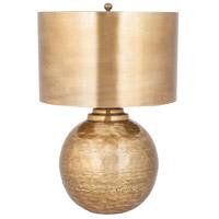Sterling 8994-008 Agamemnon 22 inch 150 watt Antique Brass Table Lamp Portable Light