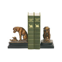 Sterling Industries Pair Turtle Under Study Bookends Decorative Accessory 91-1452