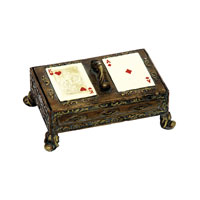 Sterling Industries Gameroom Card Box Decorative Accessory 91-1746