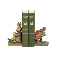 Sterling Industries Pair Tortoise And Hare Bookends Decorative Accessory 91-1927