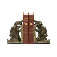 Sterling Industries Pair Turtle Tower Bookends Decorative Accessory 91-1938