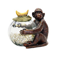 Sterling Industries Monkey Jar Keeper Decorative Accessory 91-2081