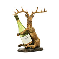 Sterling Industries Deer Wine Holder Decorative Accessory 91-2120 photo thumbnail