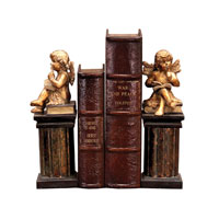 Sterling Industries Pair Thinking Cherub Bookends Decorative Accessory 91-2221