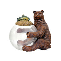 Sterling Industries Bear Jar Keeper Decorative Accessory 91-2246