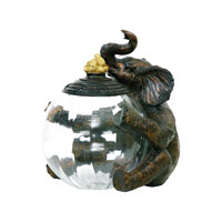 Sterling Industries Elephant Jar Keeper Decorative Accessory 91-2264
