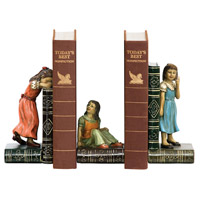 Sterling Industries Set Child Games Bookends Decorative Accessory 91-2448 photo thumbnail
