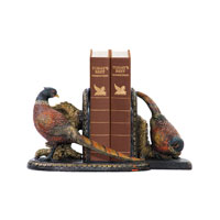 Sterling Industries Pair Autumn Pheasants Bookends Decorative Accessory 91-3722 photo thumbnail