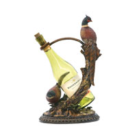 Sterling Industries Autumn Pheasant Wine Holder Decorative Accessory 91-4370