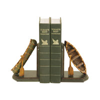 Sterling Industries Pair Camp Woebegone Bookends Decorative Accessory 91-4619