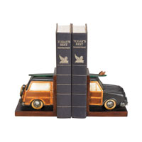 Sterling Industries Pair Vintage Vacation Bookends Decorative Accessory 91-4921 photo thumbnail