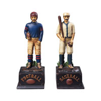 Sterling Industries Pair/Favorite Pasttimes Decorative Accessory 91-5215