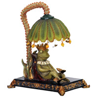 Sterling 91-740 Sleeping King Frog 12 inch 15 watt Table Lamp Portable Light photo thumbnail