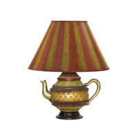 Tolbert Teapot 16 inch 60 watt Table Lamp Portable Light