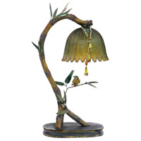 Perching Finch 17 inch 15 watt Table Lamp Portable Light