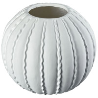 Sterling 9166-072 Pepo Matte White Planter