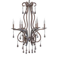 Sterling Home 6 Lite Metric Drop Chandelier 92-602
