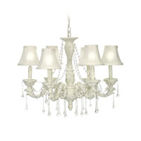 Sterling Industries 6 Lite Blanche Boudoir Mini Chandelier 92-750