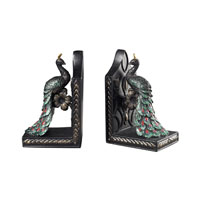 Sterling Industries Peacock Bookends Decorative Accessory in Magne 93-10049/S2