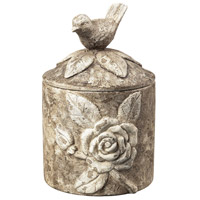 Sterling Industries Bird Box In Distressed Finish Decorative Accessory in Vintage White 93-10056