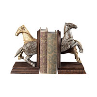 Sterling Industries Knights Horse Bookends Decorative Accessory in Gabi 93-10062/S2