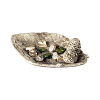 Sterling Industries Acorn Dish Decorative Accessory in Vintage White 93-10064 photo thumbnail