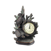 Sterling Industries Swimming Turtle Clock in Solemant 93-10076 photo thumbnail