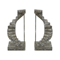 Sterling Industries Stairwell Bookends in Restoration Grey 93-10097