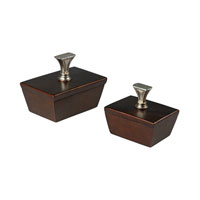 Mid-Century Inspired Peconic Copper and Silver Boxes