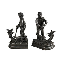 Sterling Signature Bookend in Pleasly Bronze 93-19327/S2
