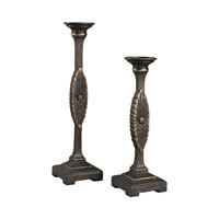 Sterling Signature Candle Holder in Mirfield Bronze 93-19335/S2