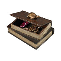 Sterling Signature Box in Aria Bronze With Gold Accent 93-19338/S2