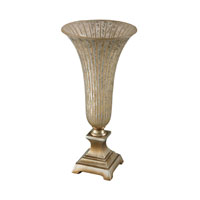 Sterling Signature Vase in Silver Leaf and Antique Silver 93-19352
