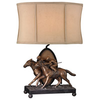 Sterling 93-19386 Winning Post 25 inch 150 watt Bronze Lamp Portable Light