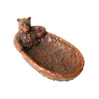 Sterling Industries Bear Necessity Dish Decorative Accessory 93-4244 photo thumbnail