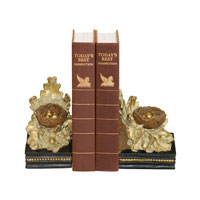 Sterling Industries Pair Oak And Acorn Bookends Decorative Accessory 93-4249