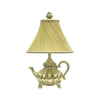 Sterling Industries Gilt Teapot Table Lamp 93-465 photo thumbnail