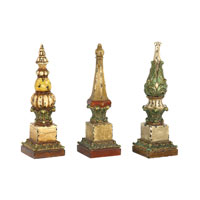 Sterling Industries Set of 3 Sphere Tip Finials Decorative Accessory 93-5408